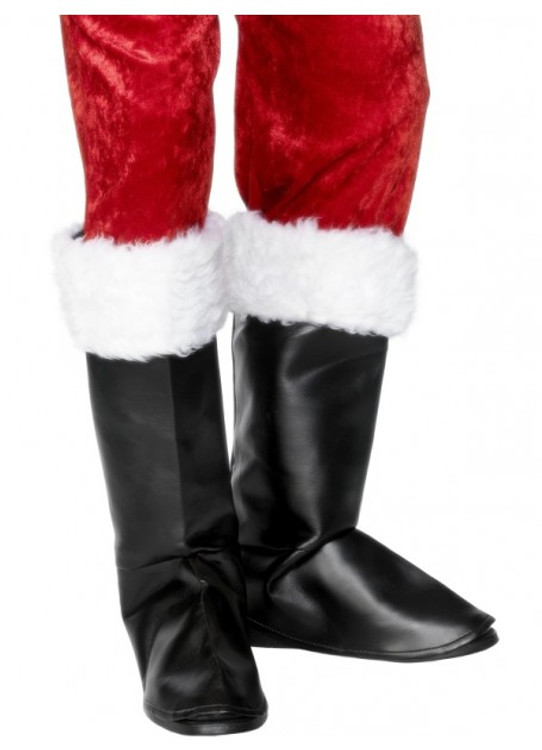 Santa Boot Covers - Adult