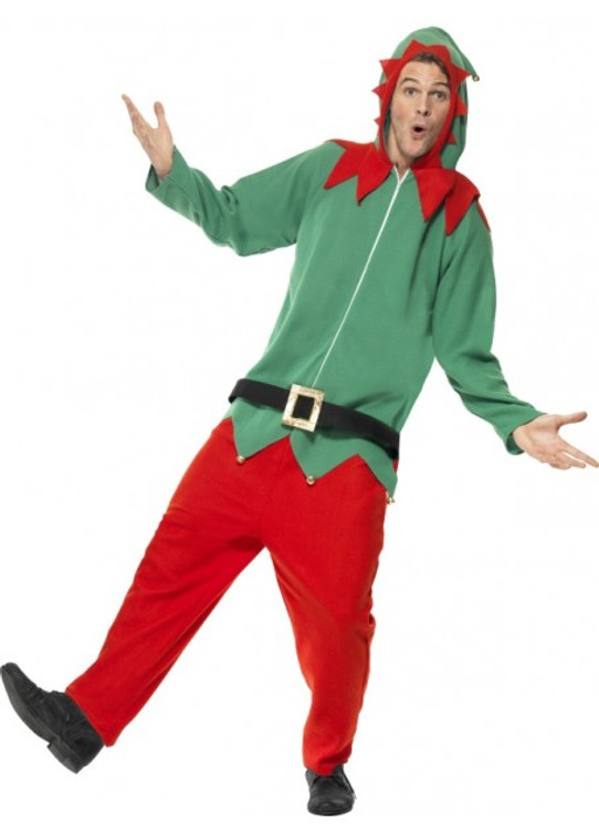 Elf All in One Mens Costume