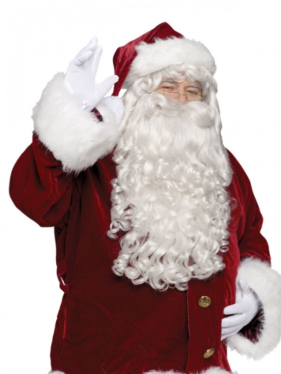 Santa Professional Wig & Beard Set