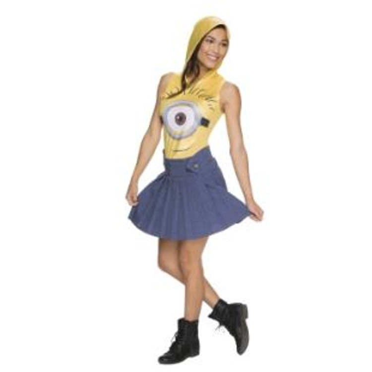 Despicable Me Minion Face Womens Costume