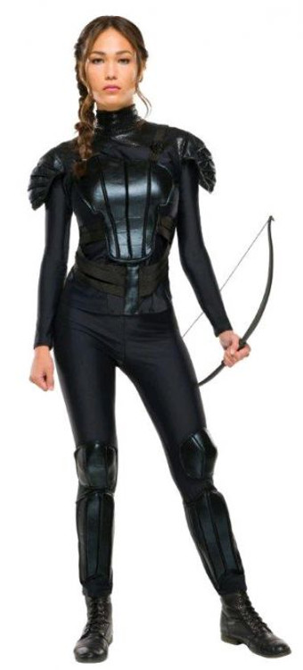 Hunger Games Katniss Rebel Adult Womens Costume