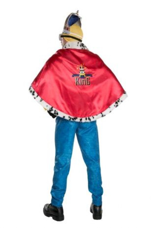 Despicable Me Minion King Cape