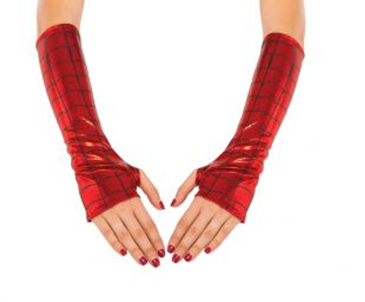 Spidergirl Arm Warmers