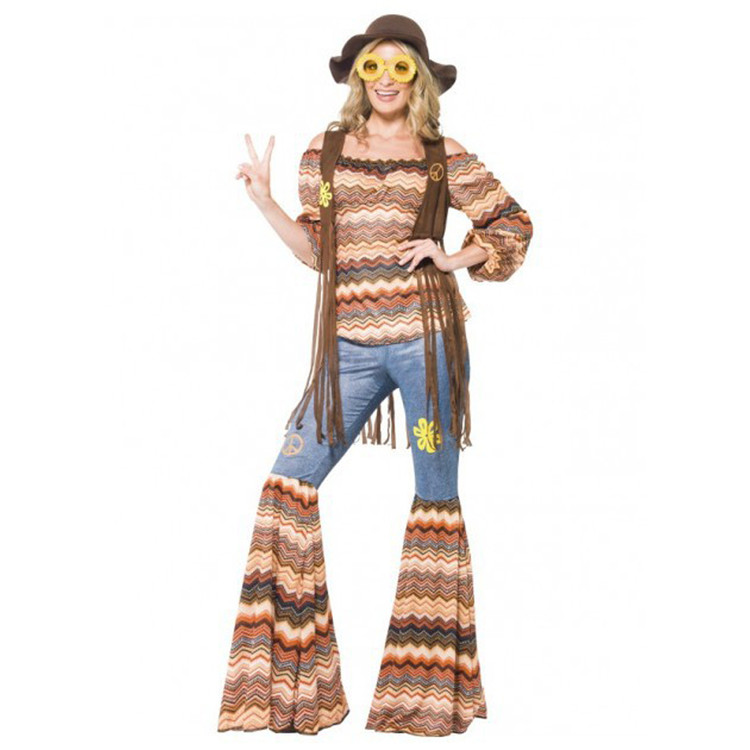 1960s Harmony Hippie Womens Costume