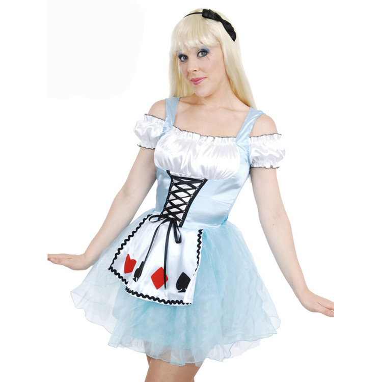 Alice in Wonderland Adult Womens Costume