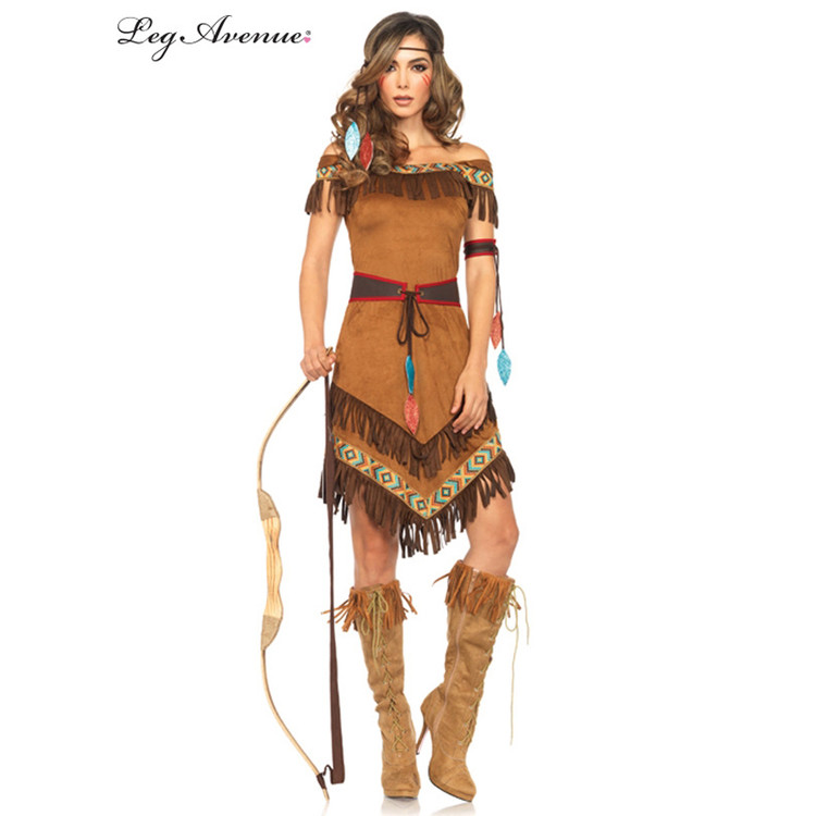 Native American Indian Princess Womens Costume