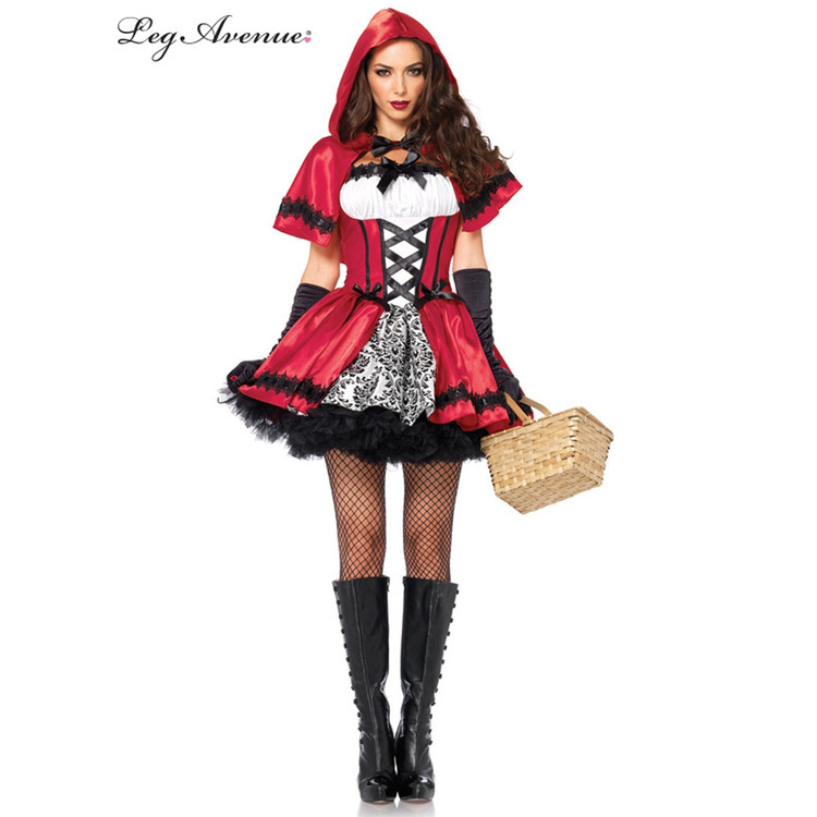 Red Riding Hood Gothic Sexy Womens Costume