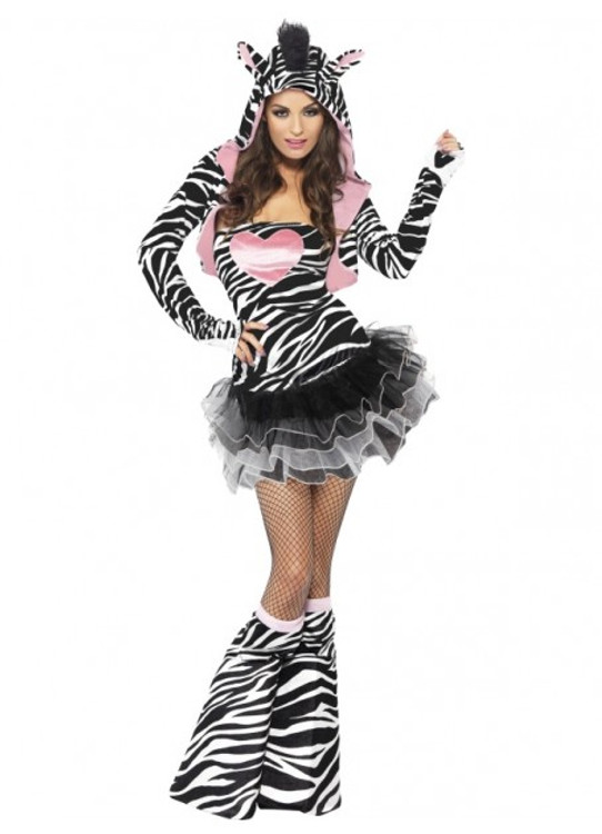 Zebra Womens Costume