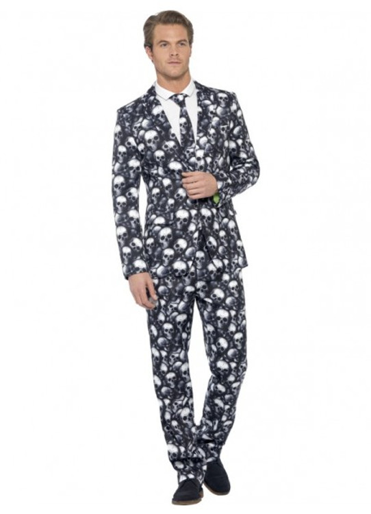 Skeleton Men's Suit Costume