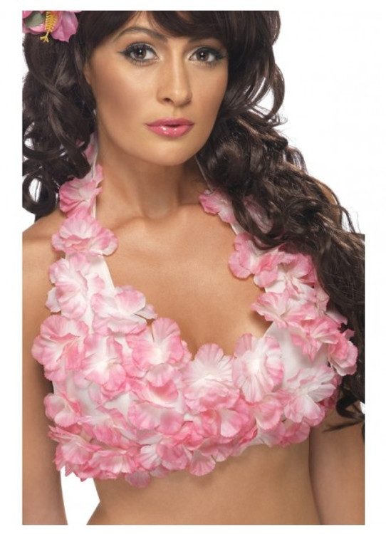 Hawaiian Flowered Halterneck Top