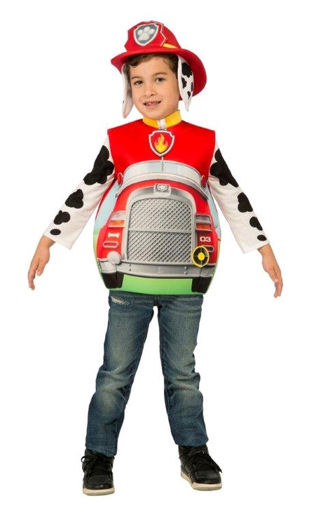 Paw Patrol Marshall Boys Costume