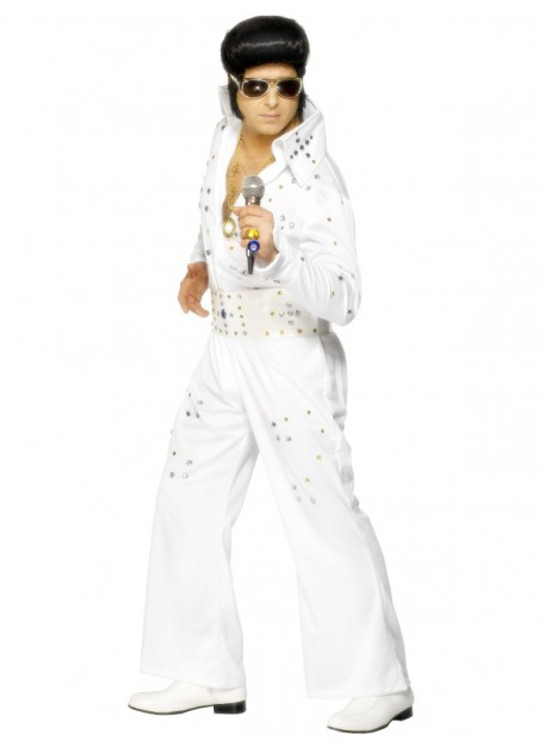 Elvis Jewelled Mens Costume