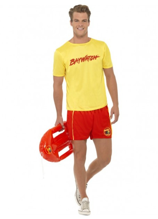 Baywatch Men's Beach Costume
