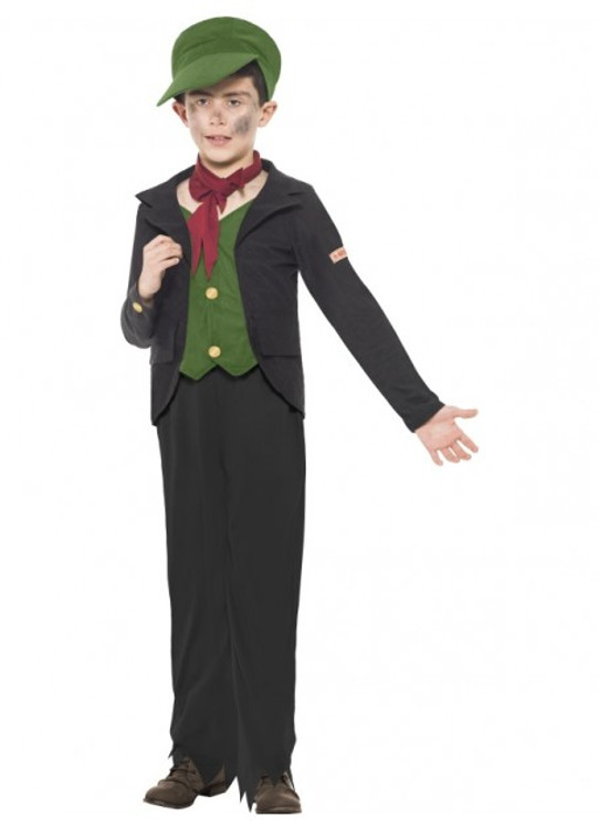 Horrible Histories Sweep Kids Costume