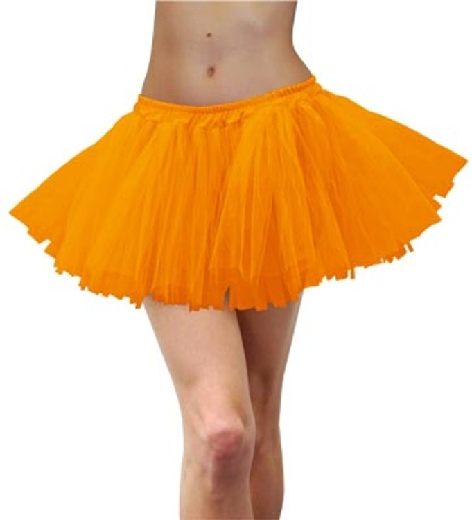 Tutu Adult 80s - Fluoro Orange