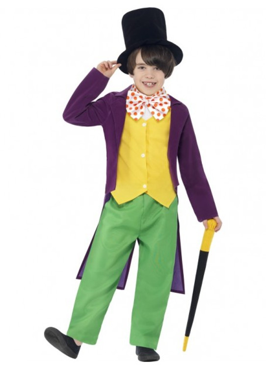 Roald Dahl Willy Wonka Kids Costume