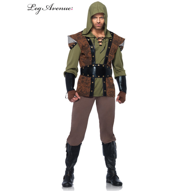 Robin Hood Bandit Mens Costume