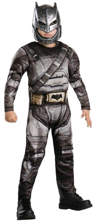 Batman Dawn of Justice Armour Boys Costume