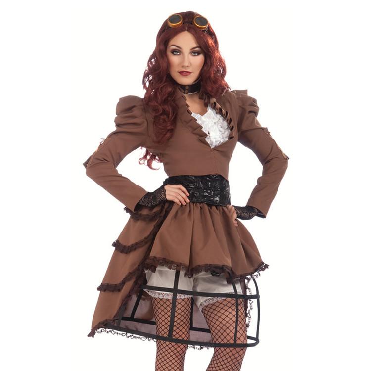 Steampunk Victorian Womens Costume