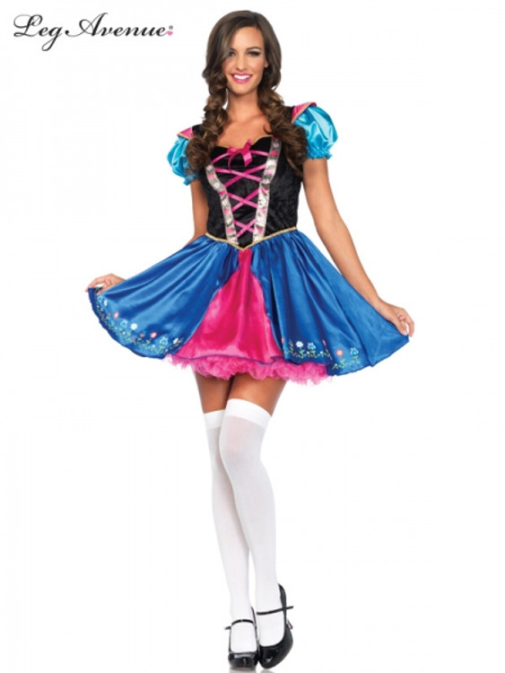 Alpine Princess Womens Costume