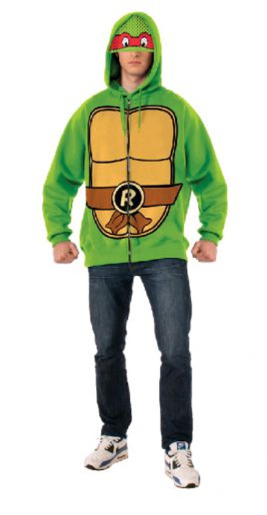Teenage Mutant Ninja Turtles - Raphael Hoodie Mens Costume