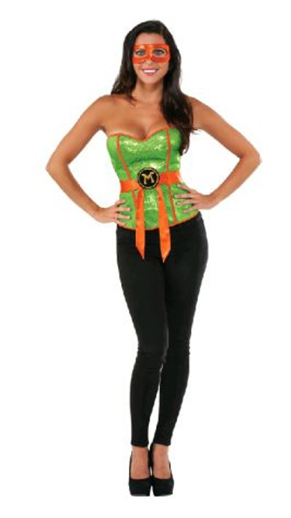 Teenage Mutant Ninja Turtles - Michelangelo Sequin Corset