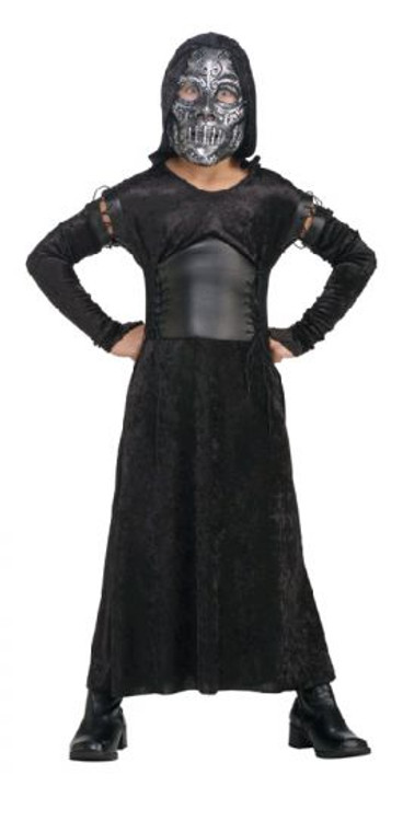 Harry Potter Death Eater Bellatrix Girls Costume