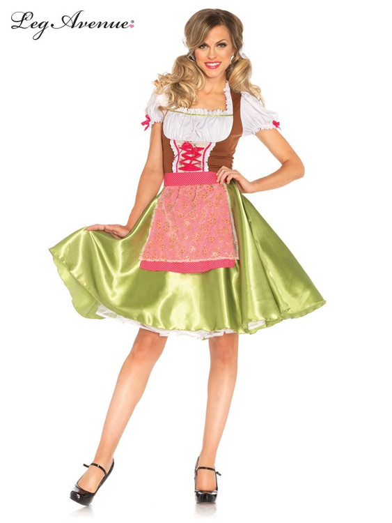 Oktoberfest Darling Greta Womens Costume