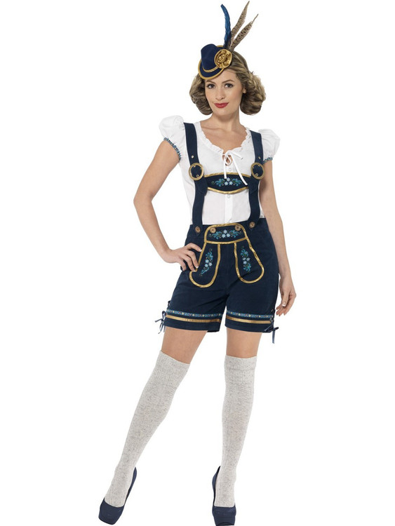 Oktoberfest Traditional Deluxe Bavarian Womens Costume