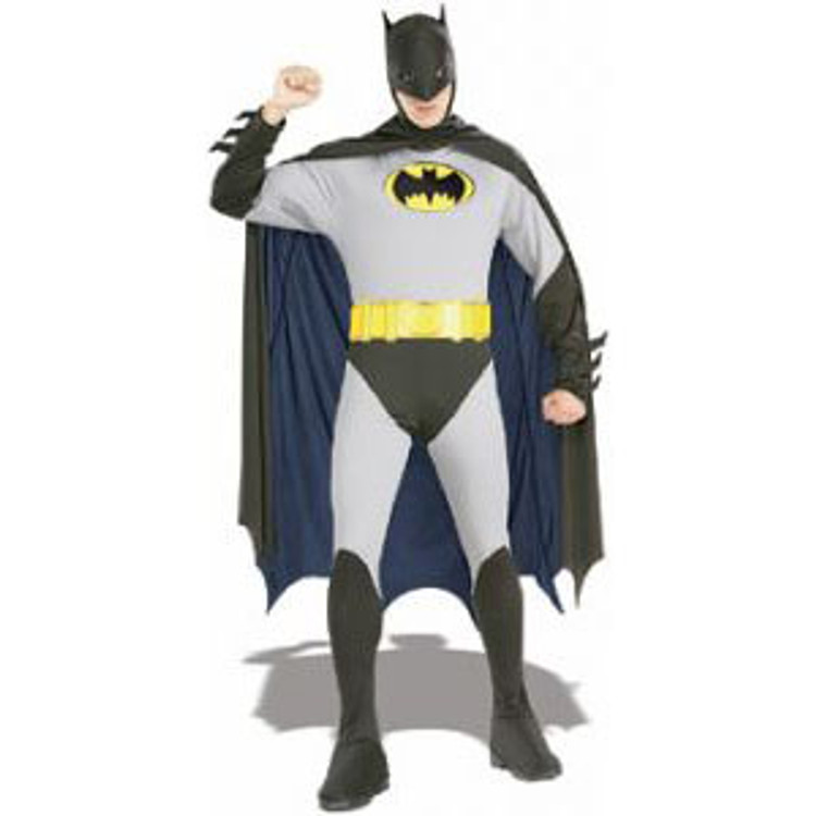 Batman Classic Grey Mens Costumes