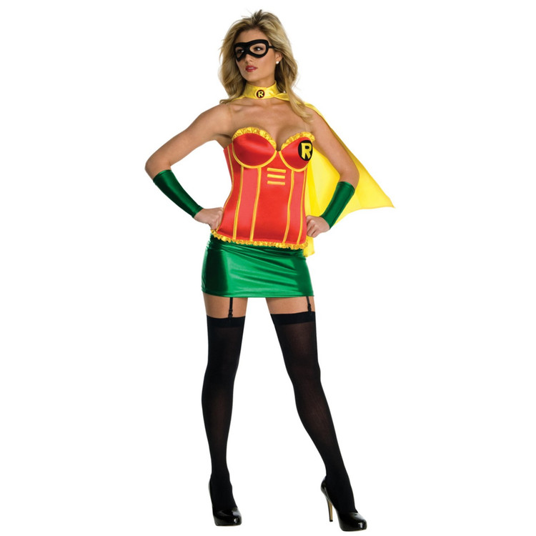 Batman - Robin Justice League Womens Costume XS,L