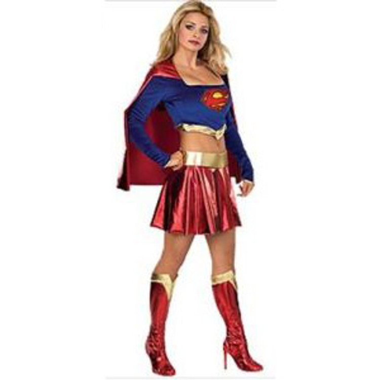 Supergirl Superhero Womens Costumes