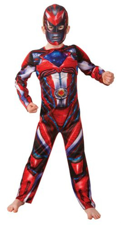 Power Ranger Red Fusion Boy's Costume