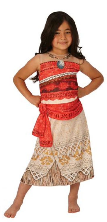 Moana Princess Girls Costume