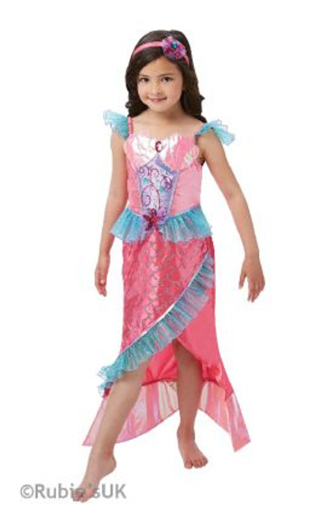 Mermaid Princess Girls Deluxe Costume