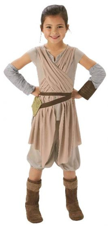 Star Wars - The Force Awakens Rey Girls Costume