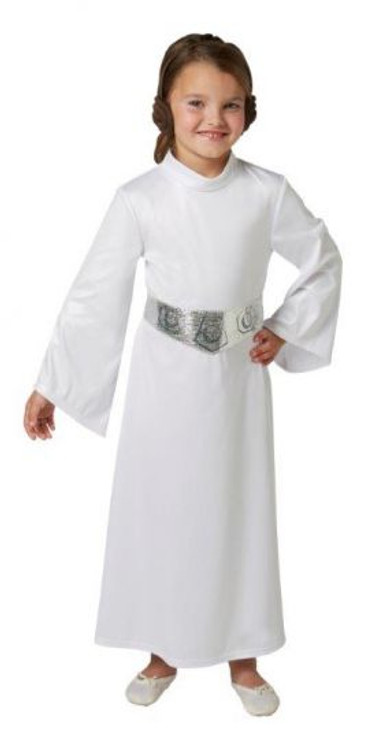 Star Wars - Princess Leia Deluxe Girls Costume  sc 1 st  Costume Direct : male princess leia costume  - Germanpascual.Com