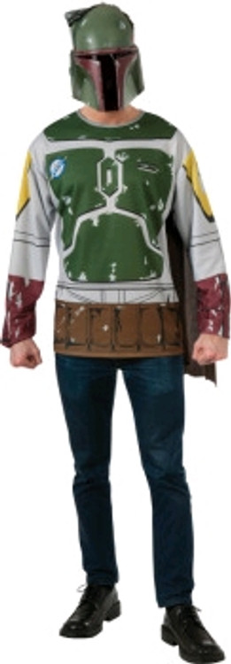 Star Wars - Bobba Fett Mens Shirt & Mask