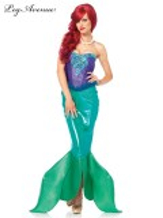 Mermaid Deep Sea Siren Womens Costume