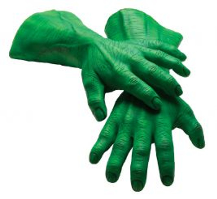 Hulk The Avengers Adult Hands