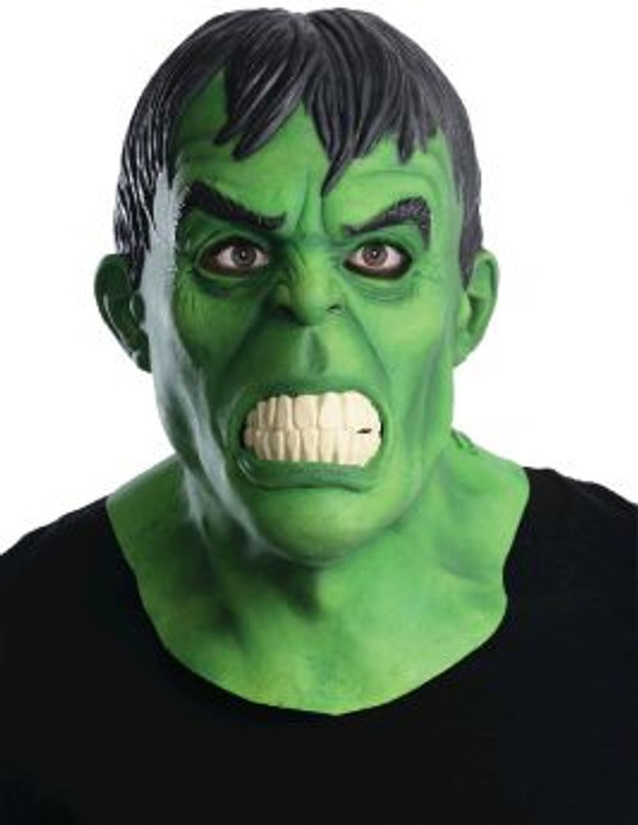 Hulk The Avengers Adult Overhead Latex Mask