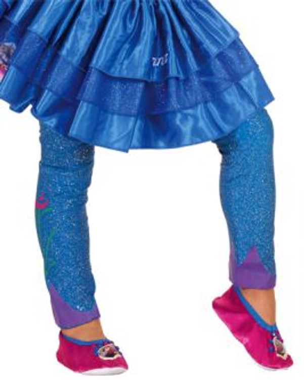 Frozen Anna Girls Footless Tights