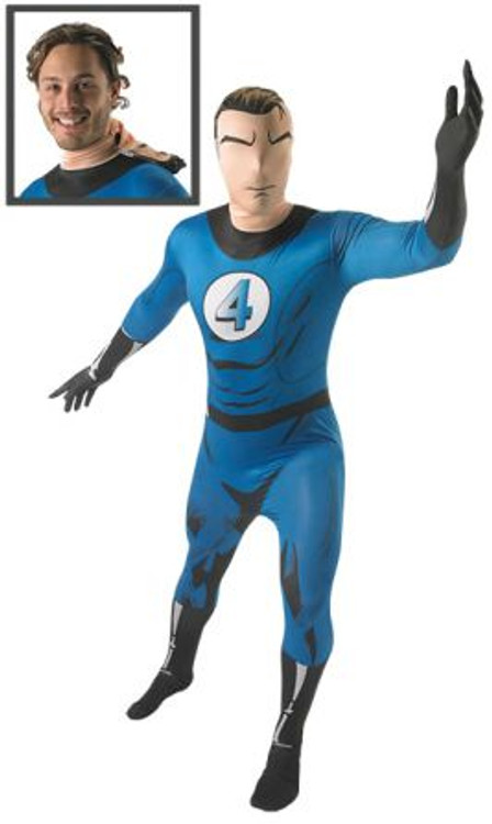 Mr Fantastic 2nd Skin Mens Costume
