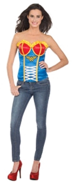 Wonder Woman Adult Corset