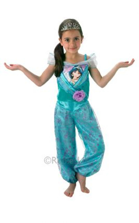 Disney Jasmine Shimmer Girls Costume