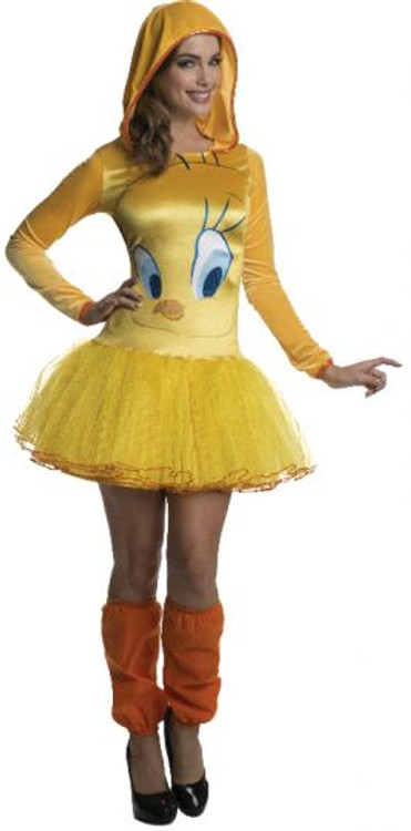 Looney Tunes - Tweety Bird Hooded Womens Costume