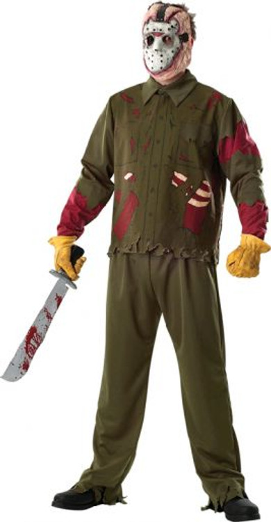 Friday 13th Jason Deluxe Mens Costume