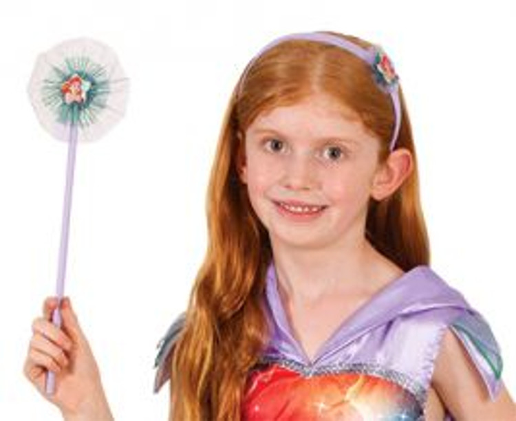 Little Mermaid Ariel Headband & Wand Set