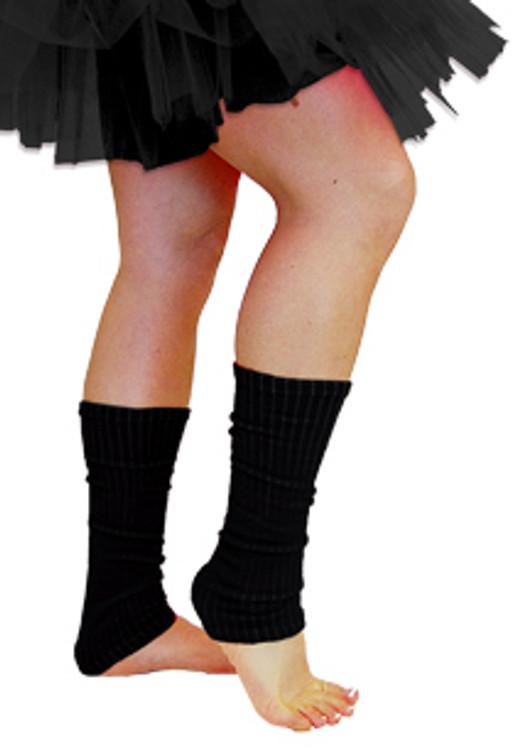 80s Leg Warmers - Black