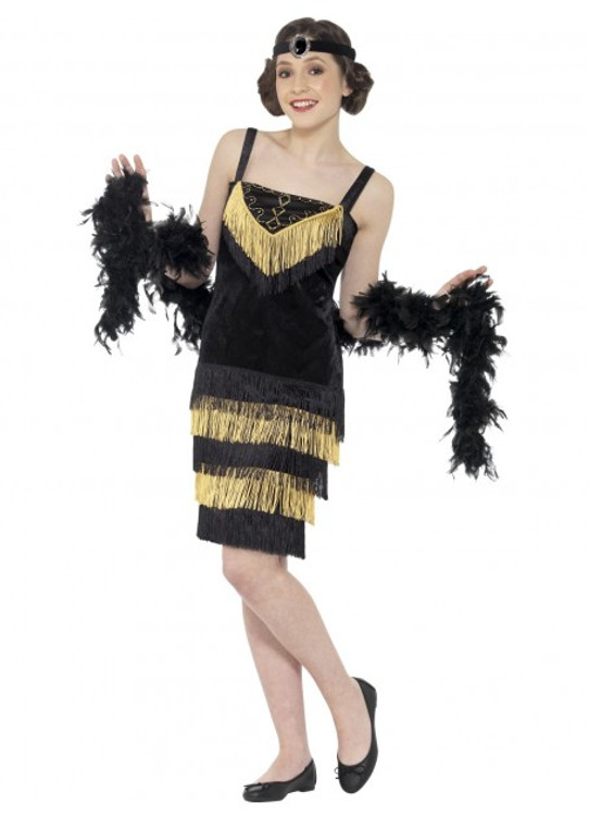 Flapper Girl Teen Costume